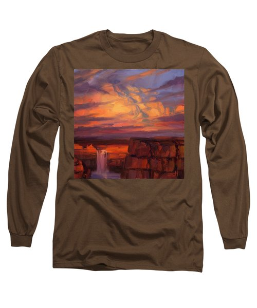 Thundercloud Over The Palouse Long Sleeve T-Shirt