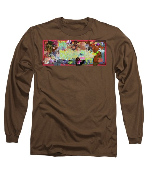 Tidal Recall 2 Long Sleeve T-Shirt by Nelson  Dedos Garcia