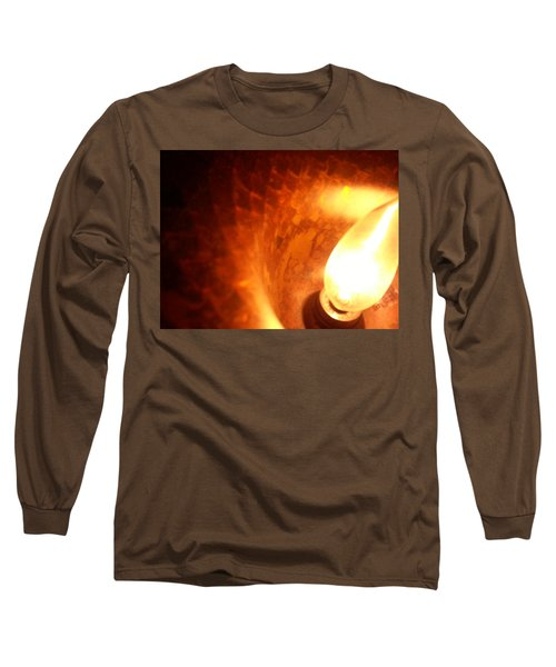 Long Sleeve T-Shirt featuring the photograph Tiffany Lamp Inside by Robert Knight