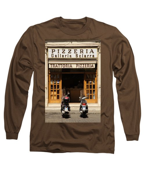 Time For Pizza Long Sleeve T-Shirt