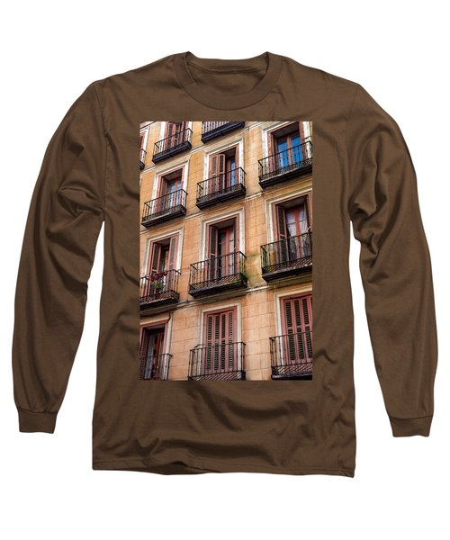 Tiny Iron Balconies Long Sleeve T-Shirt