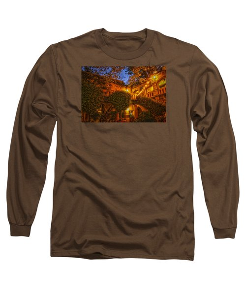 Tlaquepaque Evening Long Sleeve T-Shirt by Laura Pratt