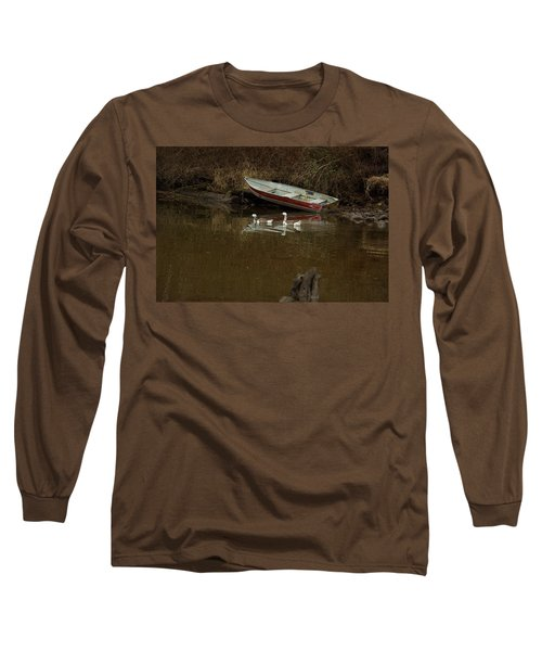 To Float Or Not To Float Long Sleeve T-Shirt