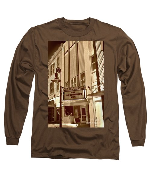 Long Sleeve T-Shirt featuring the photograph To The Movies by Skip Willits