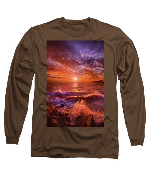 Long Sleeve T-Shirt featuring the photograph To Thine Own Self Be True by Phil Koch