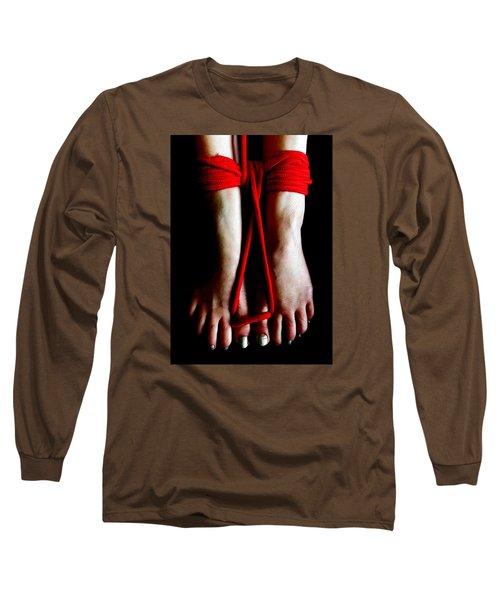 Toe Tied Long Sleeve T-Shirt
