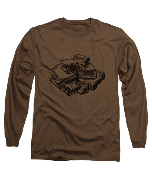 Toffee Fudge And Caramel  Long Sleeve T-Shirt