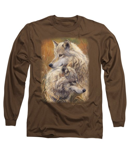 Together Long Sleeve T-Shirt by Lucie Bilodeau