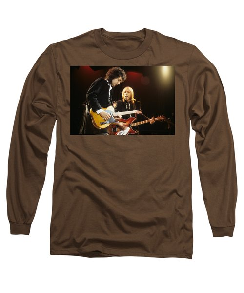 Tom Petty And Mike Campbell Long Sleeve T-Shirt