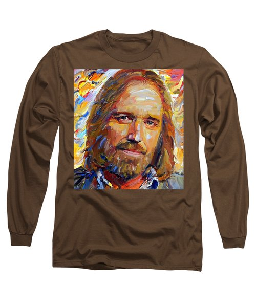 Tom Petty Tribute Portrait 1 Long Sleeve T-Shirt