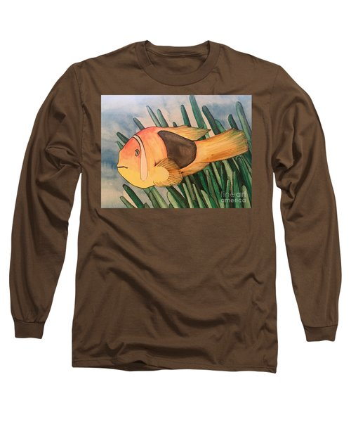 Tomato Clown Fish Long Sleeve T-Shirt