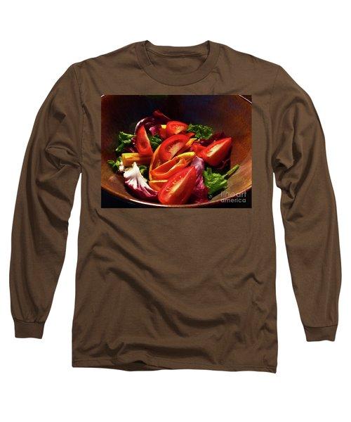Tomato Salad Long Sleeve T-Shirt