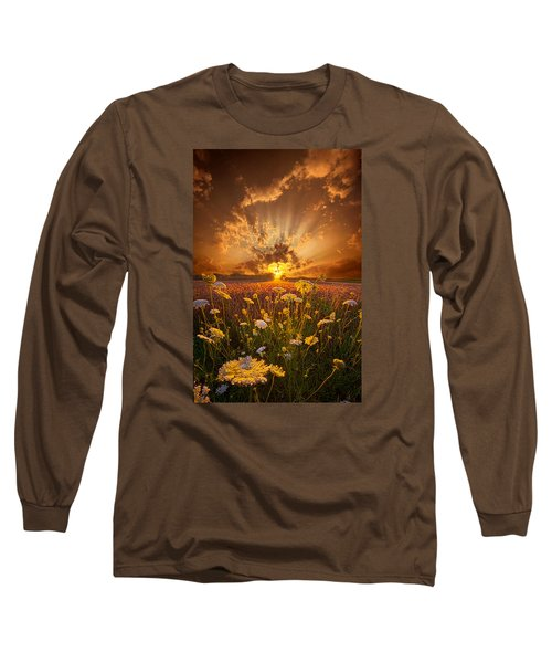 Long Sleeve T-Shirt featuring the photograph Tomorrow Is Just One Of Yesterday's Dreams by Phil Koch