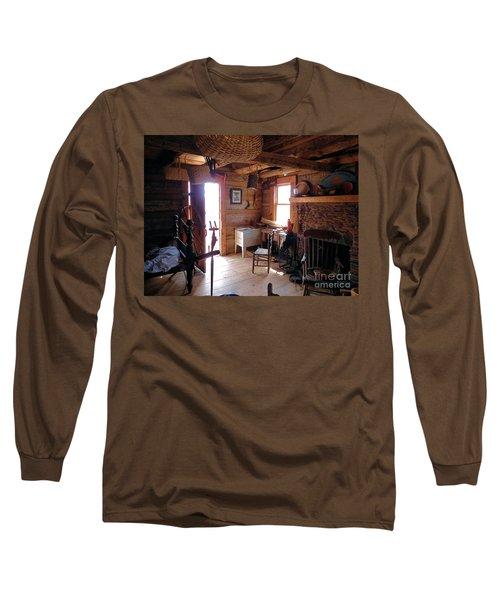 Tom's Old Fashion Cabin Long Sleeve T-Shirt