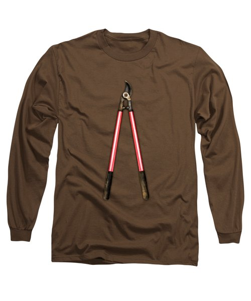 Tools On Wood 1 Long Sleeve T-Shirt