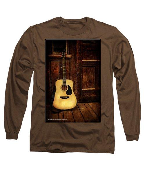 Topanga Guitar Long Sleeve T-Shirt