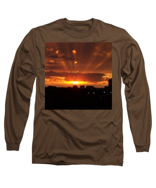 Toronto - Just One Breathtaking Sunset Long Sleeve T-Shirt