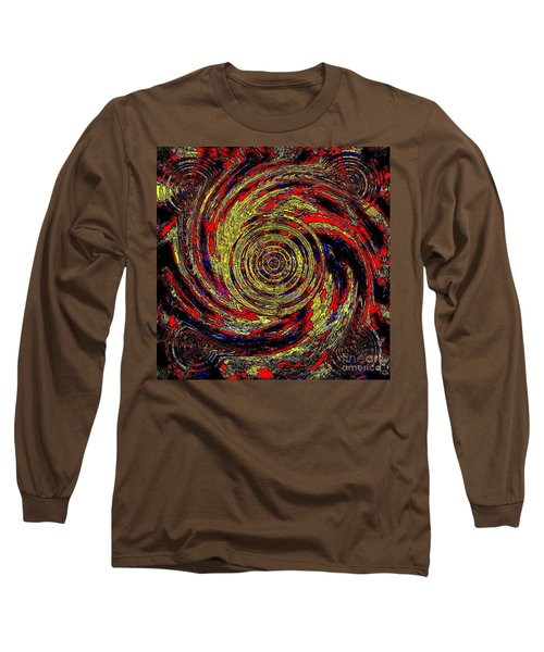 Total Water Swirl Effect  Long Sleeve T-Shirt