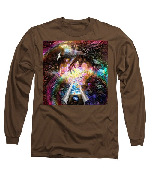 Touch Of God Long Sleeve T-Shirt