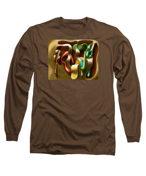Toungue Wall Long Sleeve T-Shirt