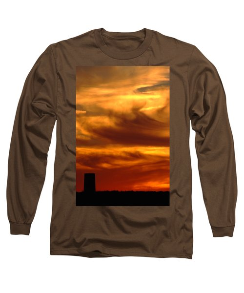 Tower In Sunset Long Sleeve T-Shirt
