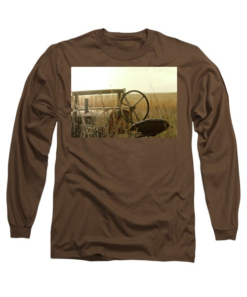 Tractor Sunrise Long Sleeve T-Shirt
