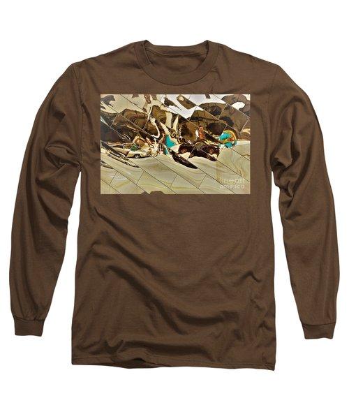 Traffic Along Euclid, Cleveland Long Sleeve T-Shirt