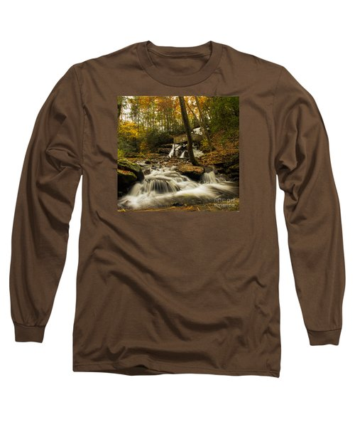 Trahlyta Falls Long Sleeve T-Shirt by Barbara Bowen