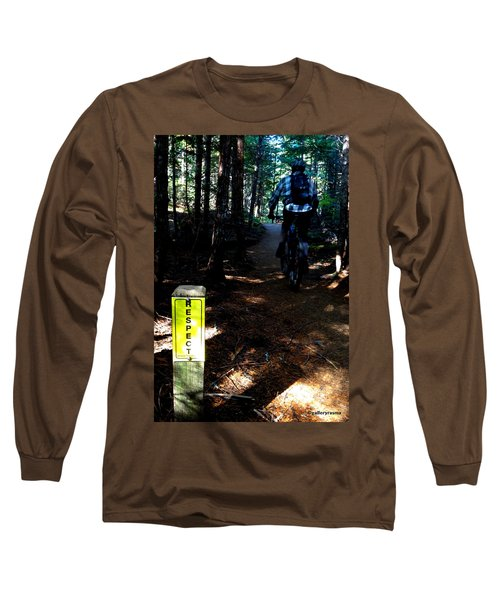 Trail Respect Long Sleeve T-Shirt