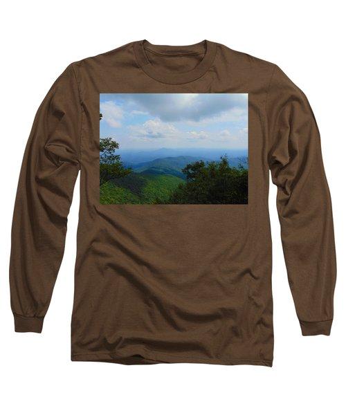 Tray Mountain Summit - North Long Sleeve T-Shirt