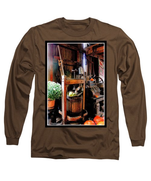 Treasures Of  Fall Long Sleeve T-Shirt by MaryLee Parker