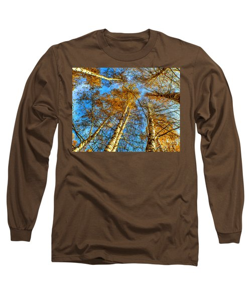 Trees Grow To The Sky Paint Long Sleeve T-Shirt