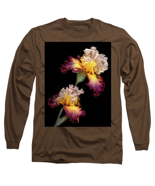 Tricolor Iris Pair Long Sleeve T-Shirt