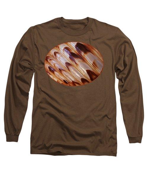 Triton Seashell Abstract Long Sleeve T-Shirt