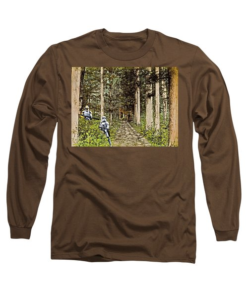 Troopers On The Planet Long Sleeve T-Shirt