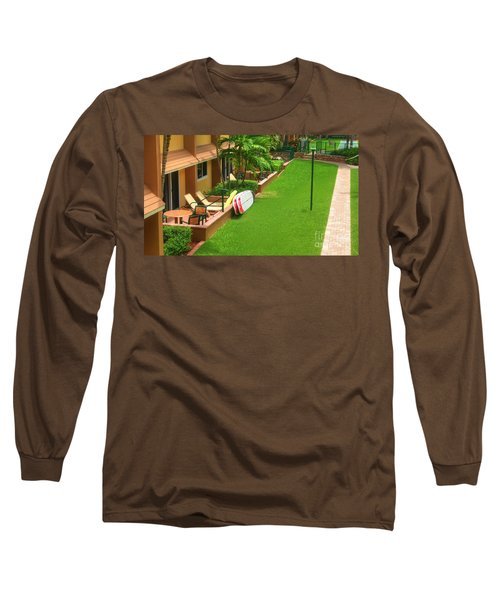 Tropical Courtyard Long Sleeve T-Shirt