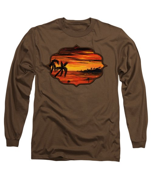 Tropical Night Long Sleeve T-Shirt