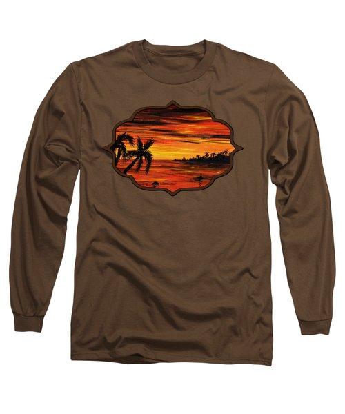Tropical Night Long Sleeve T-Shirt