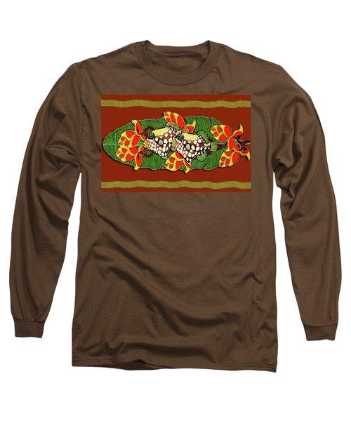 Tropical Treasure Card Long Sleeve T-Shirt