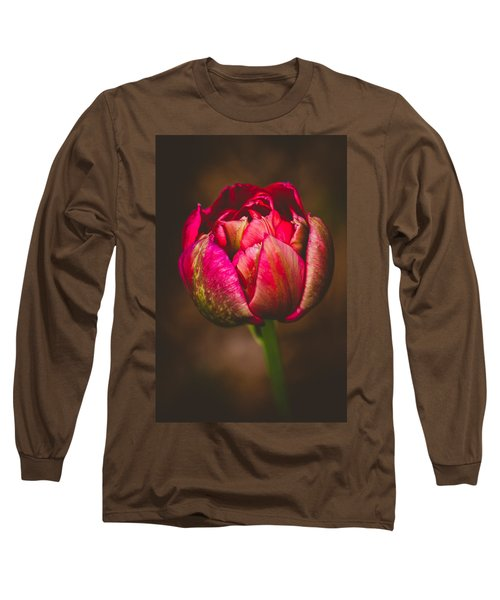 Long Sleeve T-Shirt featuring the photograph True Colors by Yvette Van Teeffelen