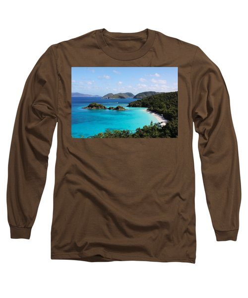 Trunk Bay, St. John Long Sleeve T-Shirt