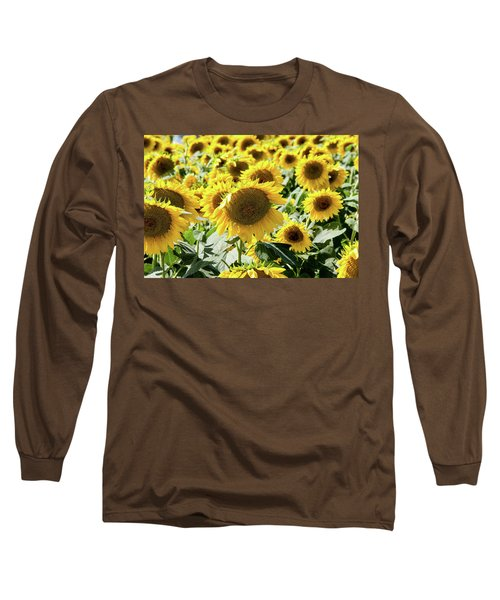 Long Sleeve T-Shirt featuring the photograph Trying To Feel Unique by Greg Fortier