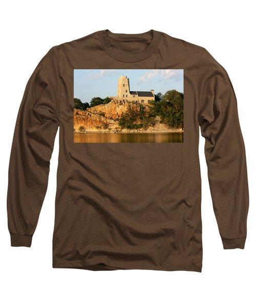 Tucker's Tower Lake Murray Oklahoma Long Sleeve T-Shirt