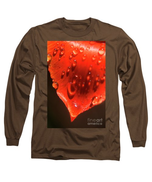 Tulip Petals After A Rain-2197 Long Sleeve T-Shirt