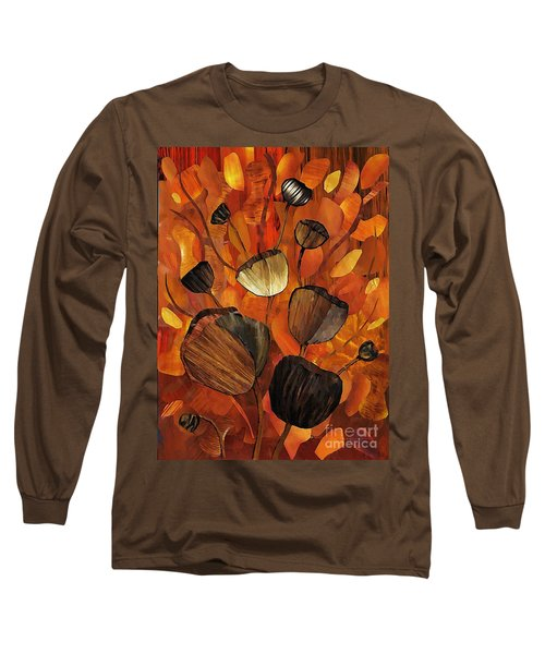 Tulips And Violins Long Sleeve T-Shirt by Sarah Loft
