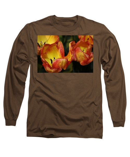 Tulips In The Morning Long Sleeve T-Shirt by Bruce Bley