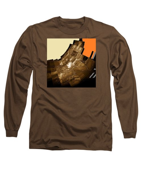 Tumble 1 Long Sleeve T-Shirt by Andrew Drozdowicz