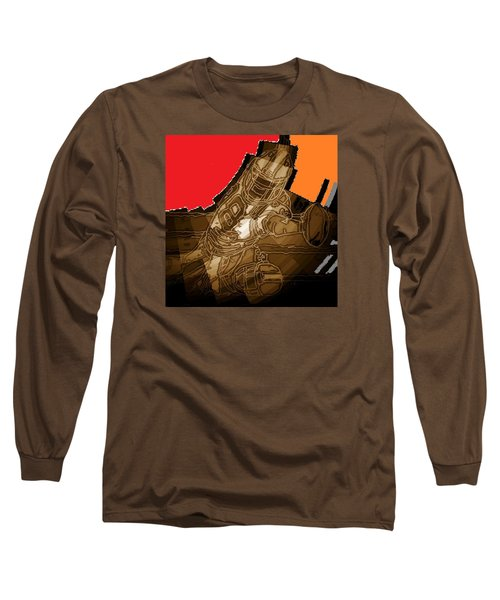 Tumble 3 Long Sleeve T-Shirt by Andrew Drozdowicz