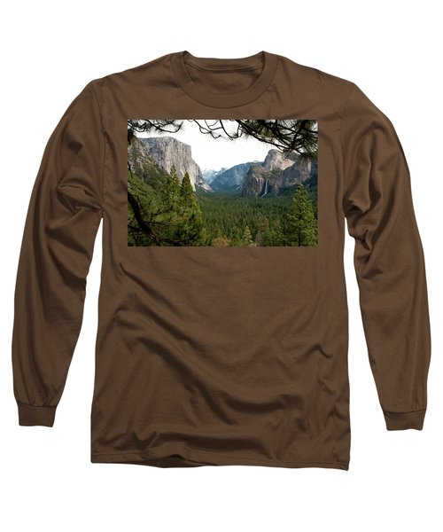 Tunnel View Framed Long Sleeve T-Shirt