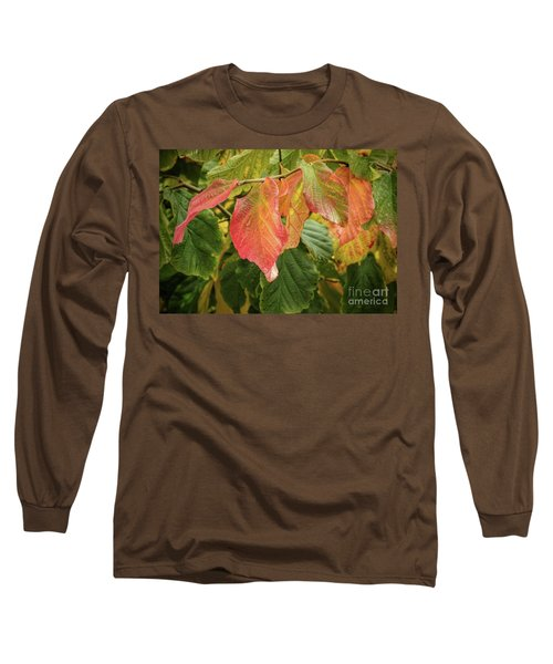 Long Sleeve T-Shirt featuring the photograph Turning by Peggy Hughes